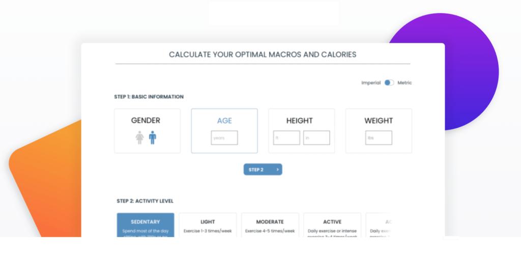Healthy Blogging - WP Calorie Calculator